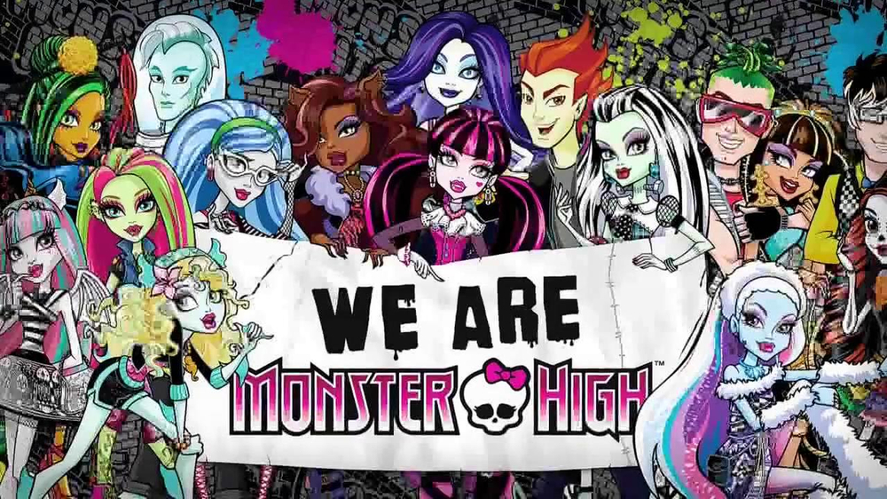 monster high frights camera action blu ray dvd tattoo
