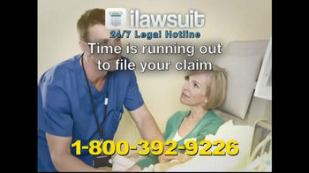 iLawsuit Legal Hotline TV Spot, 'Granduflo and Naturalyte'