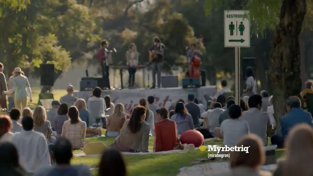 Myrbetriq TV Spot, 'Bus' - Screenshot 10