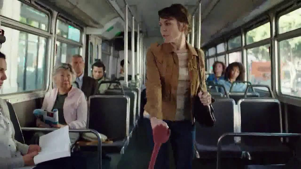 Myrbetriq TV Spot, 'Bus' - Screenshot 2