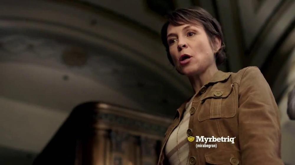 Myrbetriq TV Spot, 'Bus' - Screenshot 5
