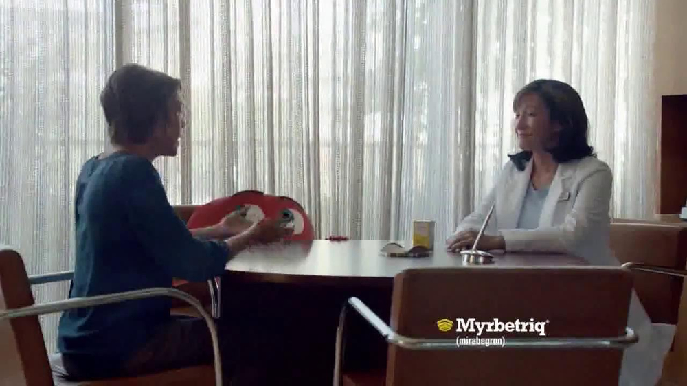 Myrbetriq TV Spot, 'Bus' - Screenshot 7