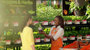 The Home Depot TV Spot, 'Spring: Vegetables and Herbs' thumbnail