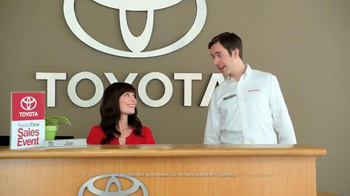 Toyota: Toyota Time Sales Event: Wave