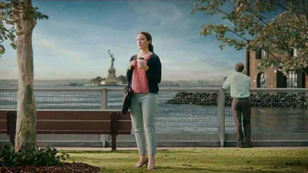 Hot Black Chick In Liberty Mutual Commercial