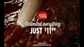 Golden Corral Unlimited Baby Back Ribs TV Spot, 'Ribsational'