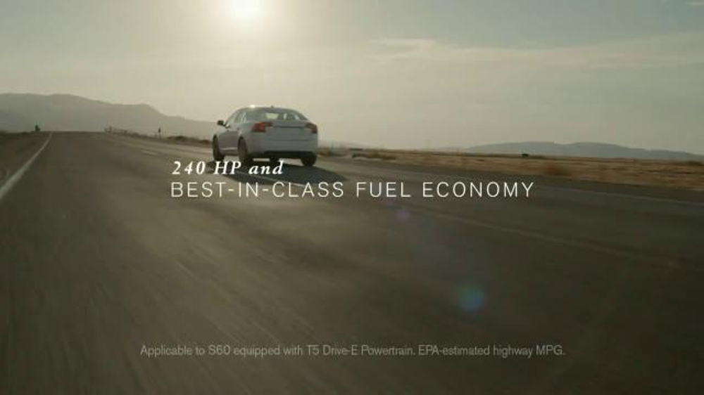 2015 Volvo S60 TV Commercial, 'Why Do We Do It?' Song by OneRepublic - iSpot.tv