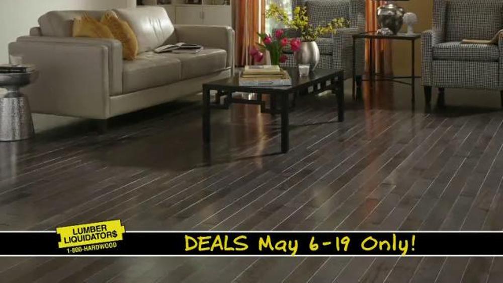 Lumber liquidators may deals tv commercial 39 hardwood for Hardwood flooring deals