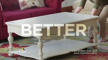 Wayfair TV Spot, 'Fast and Free Shipping'