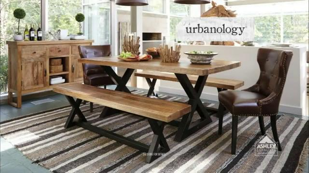 ashley furniture homestore tv commercial 39 new urbanology line 39