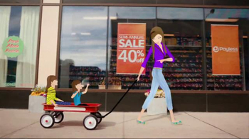 Payless Shoe Source Semi-Annual Sale TV Spot, 'The Big One'