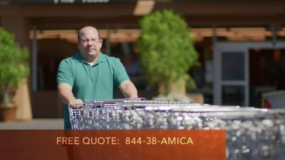 amica mutual insurance company tv commercial 39 shopping carts 39. Black Bedroom Furniture Sets. Home Design Ideas