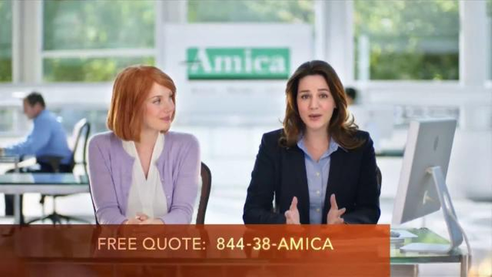 Amica Mutual Insurance Company TV Commercial, 'Shopping ...