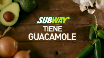 Subway TV Spot, 'Subway Tiene Guacamole' [Spanish]