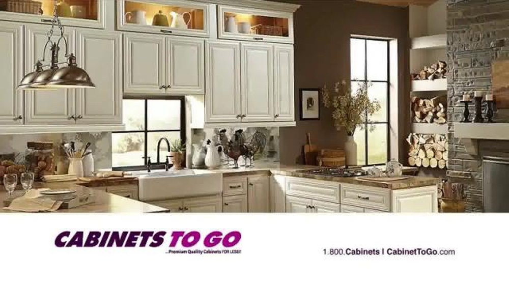 Cabinets to go tv spot 39 save 10 20 off 39 for Cabinets to go