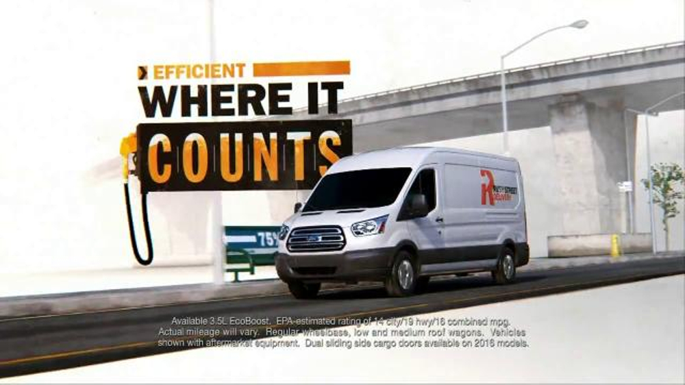 Ford Transit Tv Spot Own The Work Ispot Tv