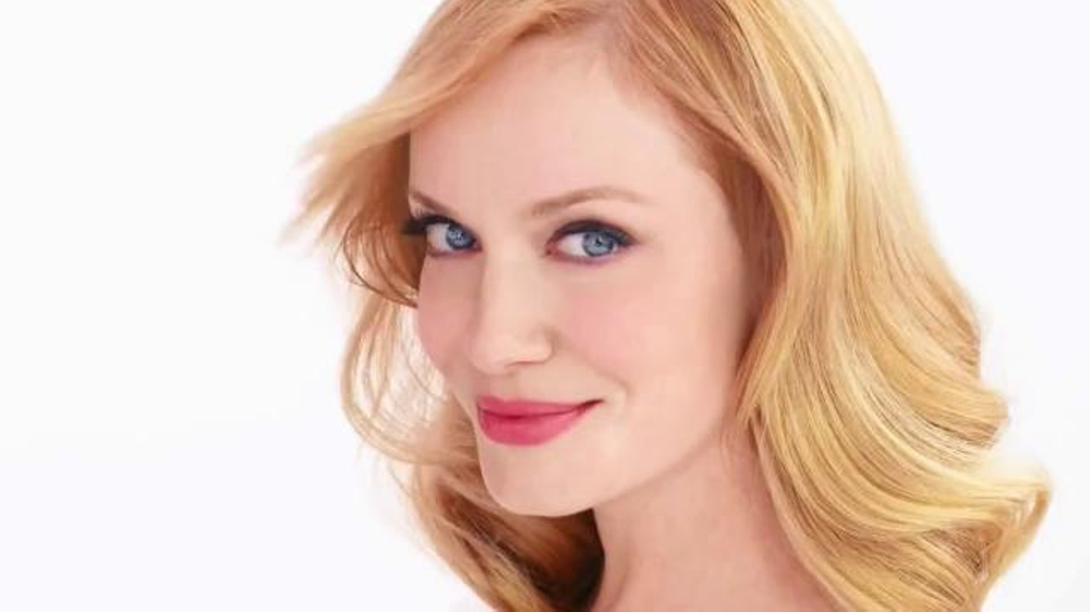 Christina Hendricks natural hair colour