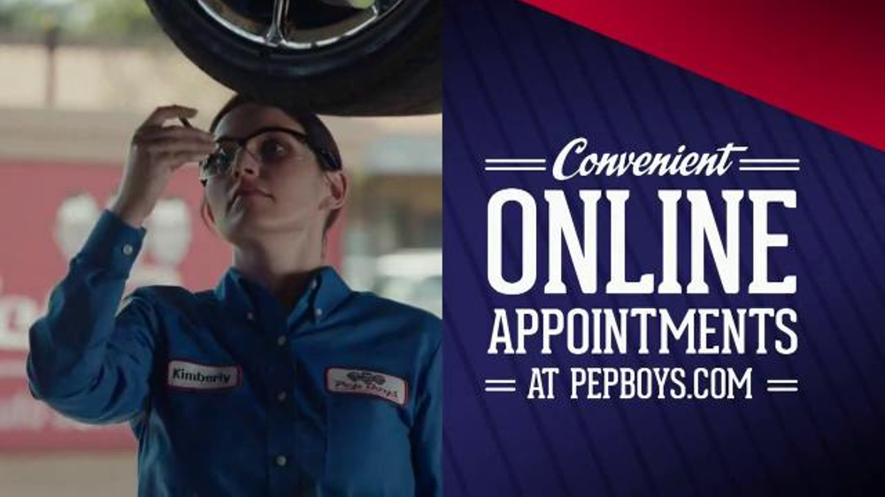 PepBoys TV Spot, 'Oil Change and Online Appointments'