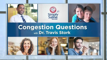 Simply Saline TV Spot, 'Congestion Questions' Featuring Dr. Travis Stork