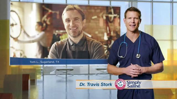 Simply Saline TV Spot, 'Congestion Questions: Tom'