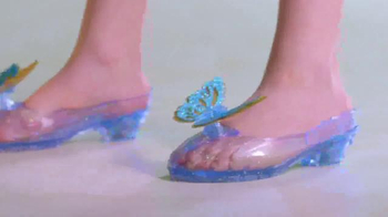 Disney Princess Butterfly Dress and Shoes TV Spot, 'Your Time'