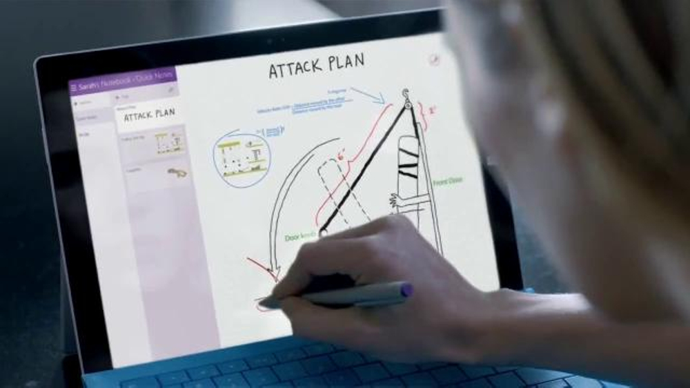 Microsoft Surface TV Spot, 'The Walking Dead Prank'