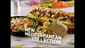 Subway Mediterranean Collection TV Spot, 'Fresh Feta'