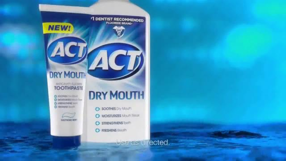 Act Mouthwash Dry Mouth >> ACT Dry Mouth TV Commercial, 'Dry Mouth Relief' - iSpot.tv