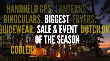Cabela's Spring Great Outdoors Days TV Spot, 'Let The Stage Be Set'