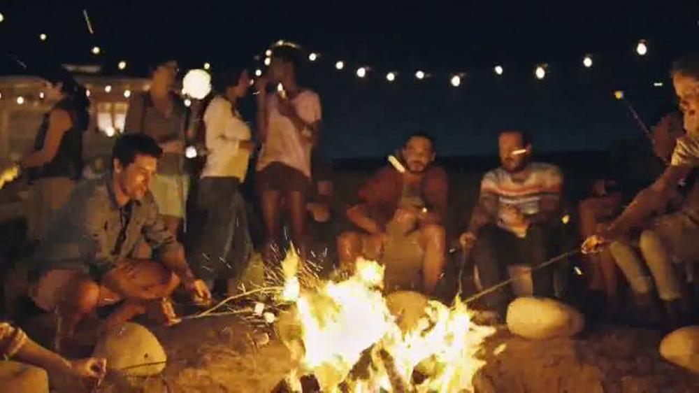 Hershey's Milk Chocolate TV Spot, 'S'mores Around the Bonfire'