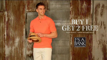 JoS. A. Bank Buy One, Get Two Free TV Spot, 'New Styles, Great Savings'