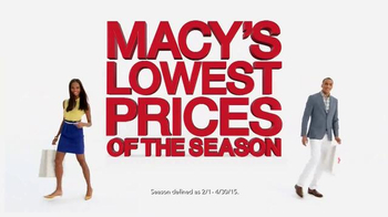 Macy's Lowest Prices of the Season TV Spot, 'Get Your Savings Pass'