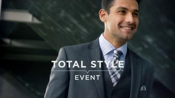 Men's Wearhouse Total Style Event TV Spot, 'Suits, Dress Shirts and BOGO'