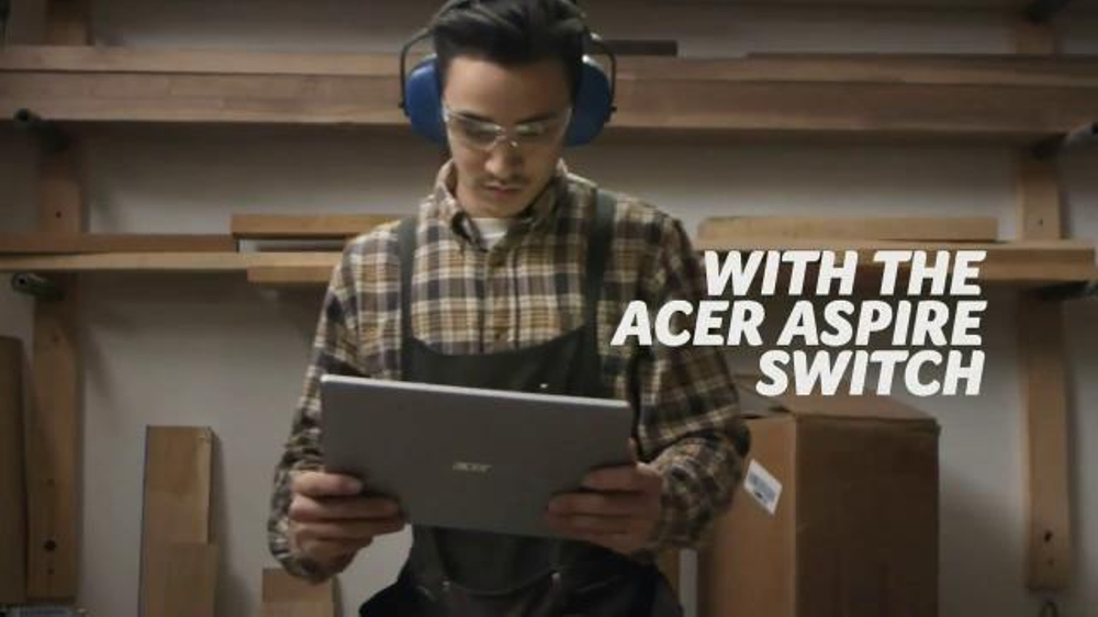 Acer Aspire Switch 10 TV Spot, 'Work or Play'