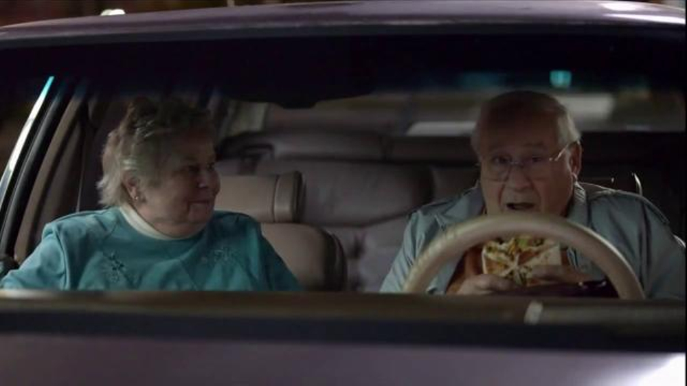 redhead in taco bell commercial