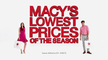 Macy's Lowest Prices of the Season TV Spot, 'Great Suit and Shoe Sales'