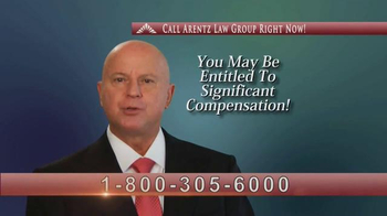 Arentz Law Group TV Spot, 'Testosterone Supplements'