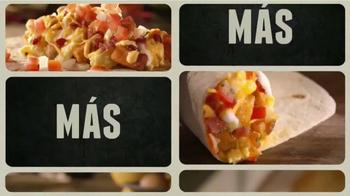 Taco Bell A.M. Crunchwrap TV Spot, 'Más y Más' [Spanish] thumbnail