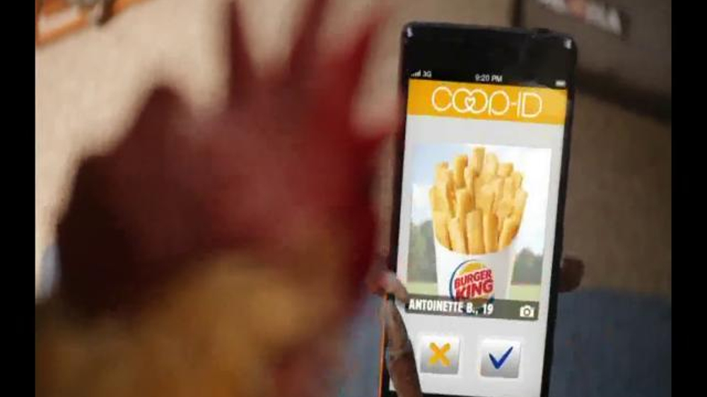 chicken fries dating commercial