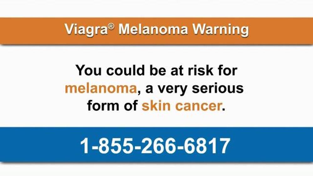Viagra melanoma warning