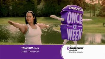 Tanzeum TV Spot, 'Lower Your A1C'