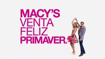 Macy's Venta Feliz Primavera TV Spot, 'Ahorra en Toda la Tienda' [Spanish] thumbnail