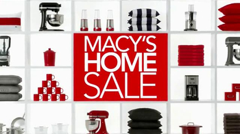 Macy's Home Sale TV Spot, 'Stock Up'