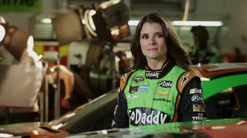 GoDaddy TV Spot, 'Air Wrench: Tony Stewart Pranks Danica Patrick' - Thumbnail 4