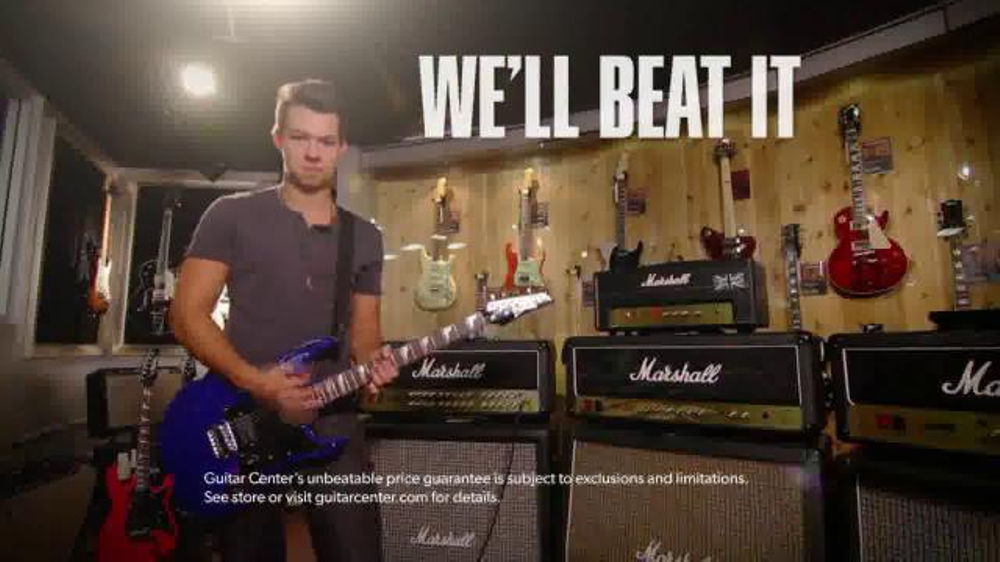 Guitar Center 50th Anniversary TV Spot, 'Beat The Price' - Screenshot 9