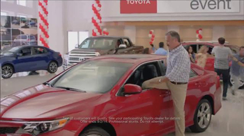 Toyota's Annual Clearance Event TV Spot, 'Music Controller' - 158 commercial airings