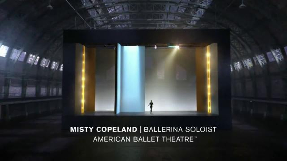 Under Armour TV Spot, 'Misty Copeland: I Will What I Want' - Screenshot 9