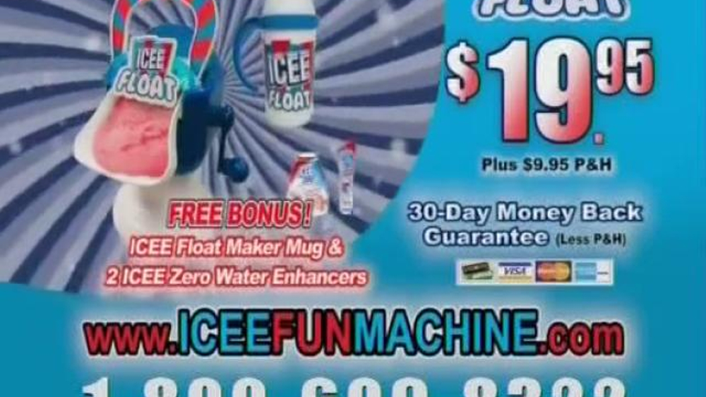 icee float machine