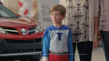 2014 Toyota Prius Annual Clearance Event TV Spot, 'Superpowers' - 14 commercial airings