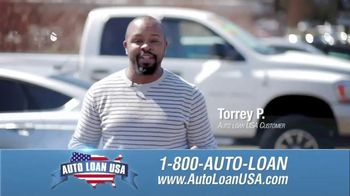 Auto Loan USA TV Spot, 'Torrey P.'